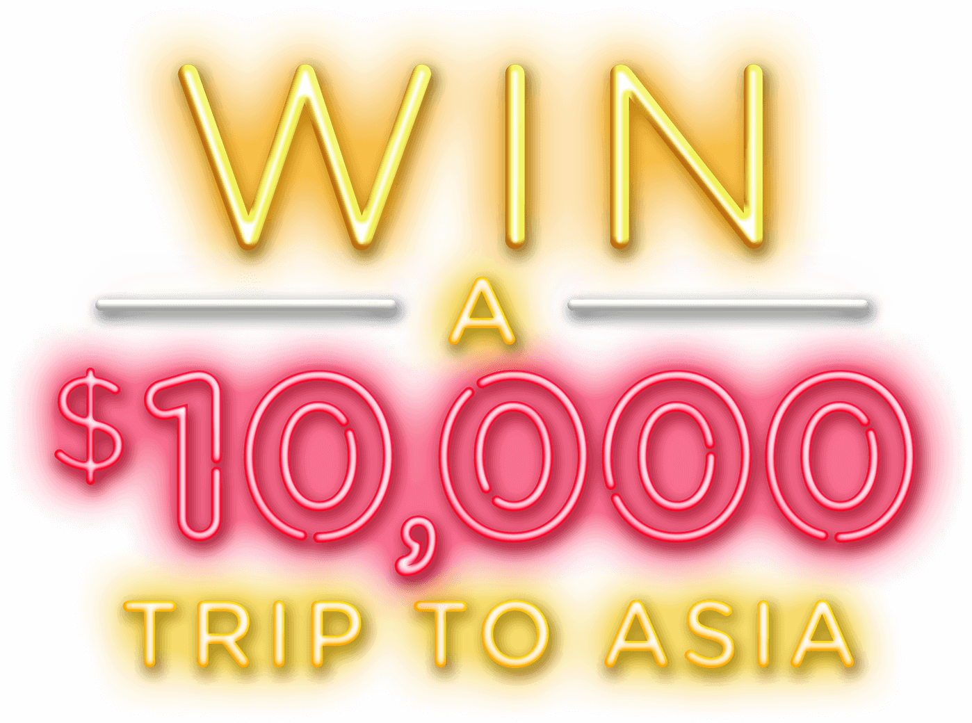 Win a $10k trip to Asia